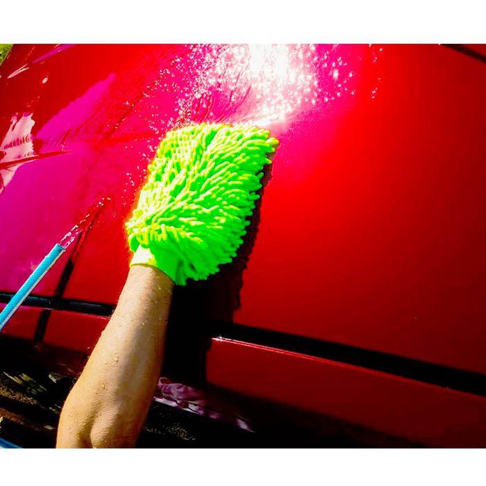 Kit 05 luvas automotiva e 05 toalhas mágica microfibra