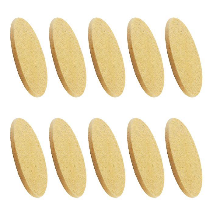 Kit 10 esponja mágica amarela