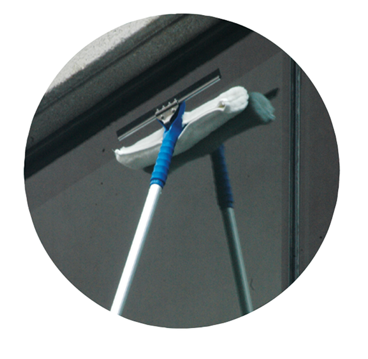 Kit 3 Luvas de reposição para Rodo limpa vidros Bralimpia 25Cm