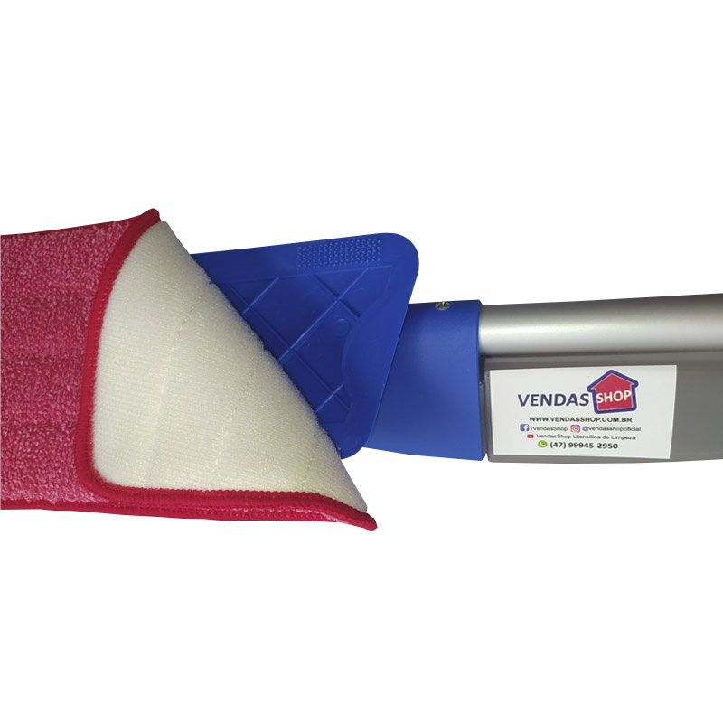 Kit 3 Refis da Vassoura Magica Esfregão Mop Spray Universal
