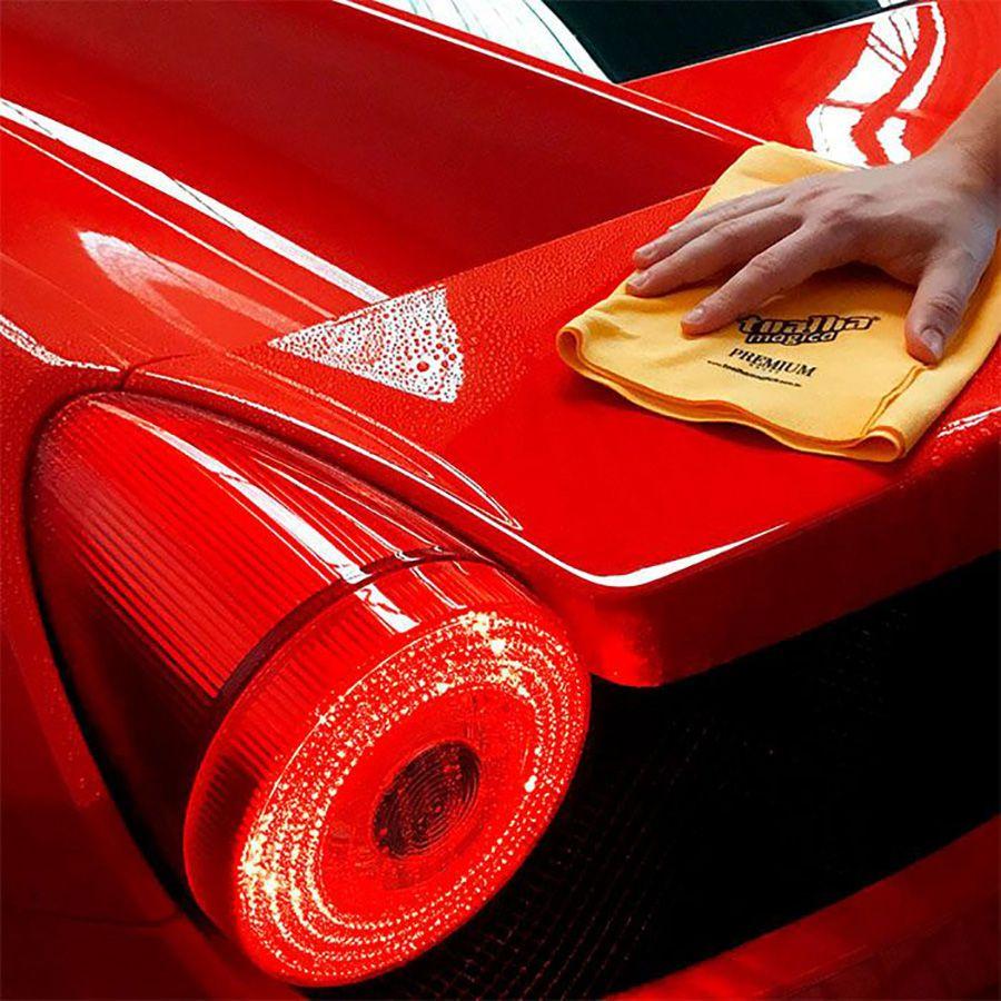 Kit 3 Toalhas Mágica Premium Limpeza Automotiva