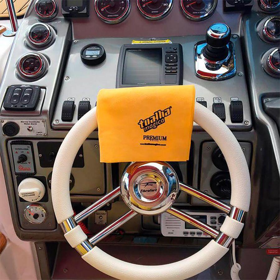 Kit 5 Toalhas Mágica Premium Limpeza Automotiva