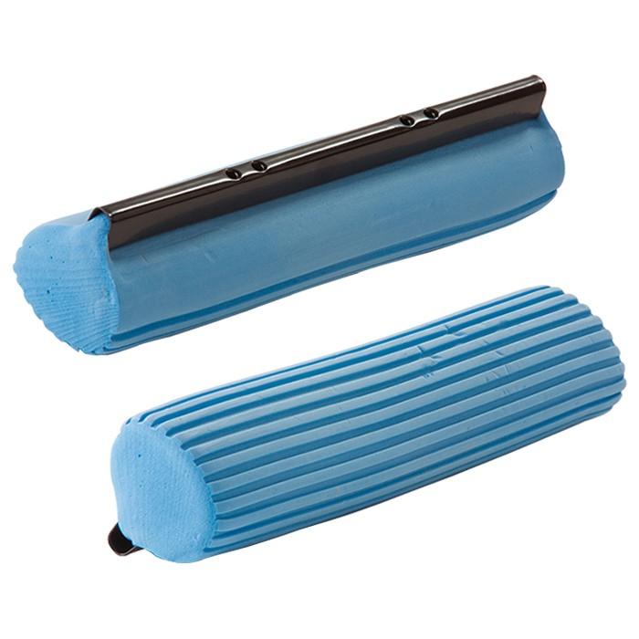 Kit Rodo Mágico Mop C/ 3 Refil Limpa e Seca E Balde Dobrável