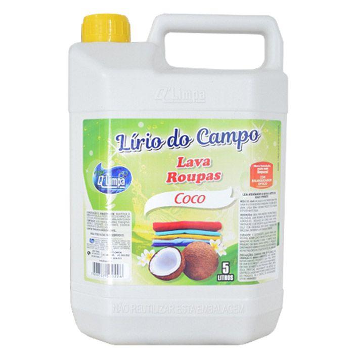 Lava Roupas 5 Litros Coco