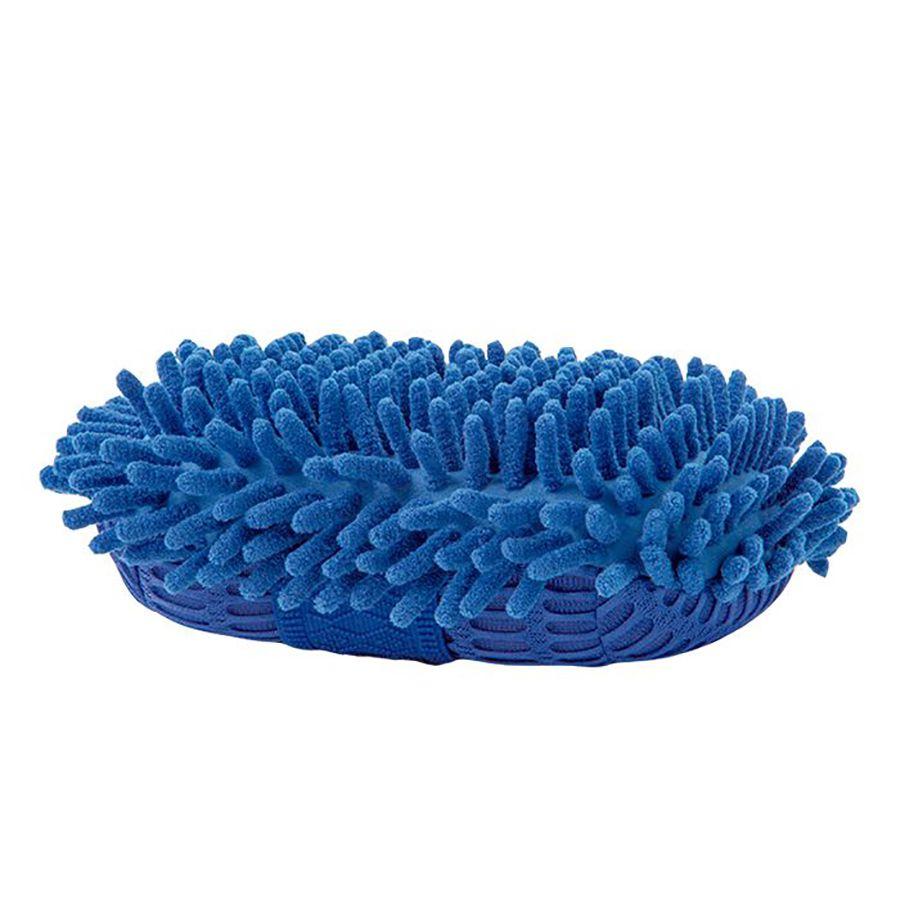 Esponja Macia Luva Para Lavar Carro Microfibra Não Risca