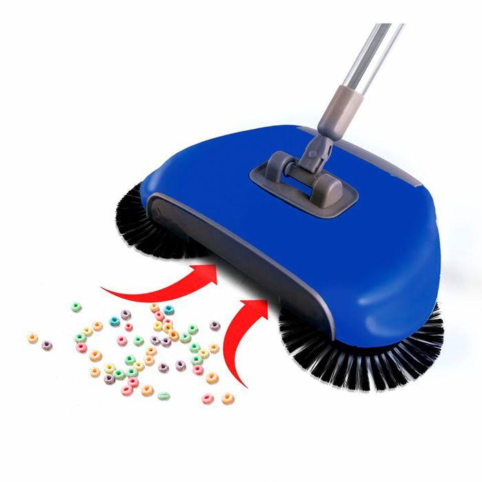 Esfregão Mop Limpeza Prática Premium e Vassoura Mágica