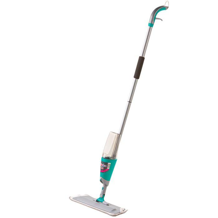 Mop Spray Noviça Com Reservatório Vassoura Microfibra 42 Cm