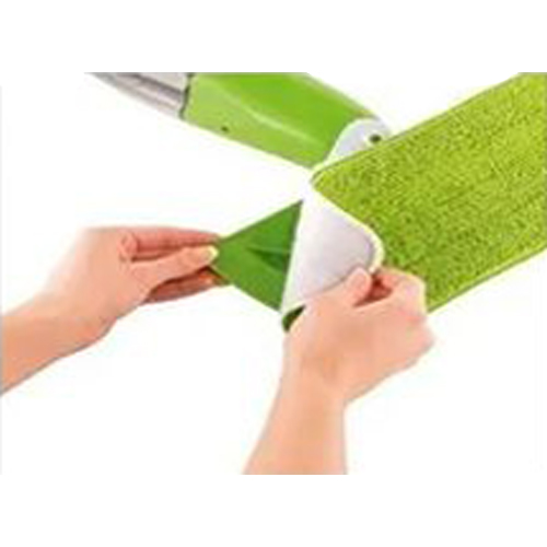 Mop Spray Vassoura C/ Reservátorio, Borrifador, Rodo Limpa Vidros