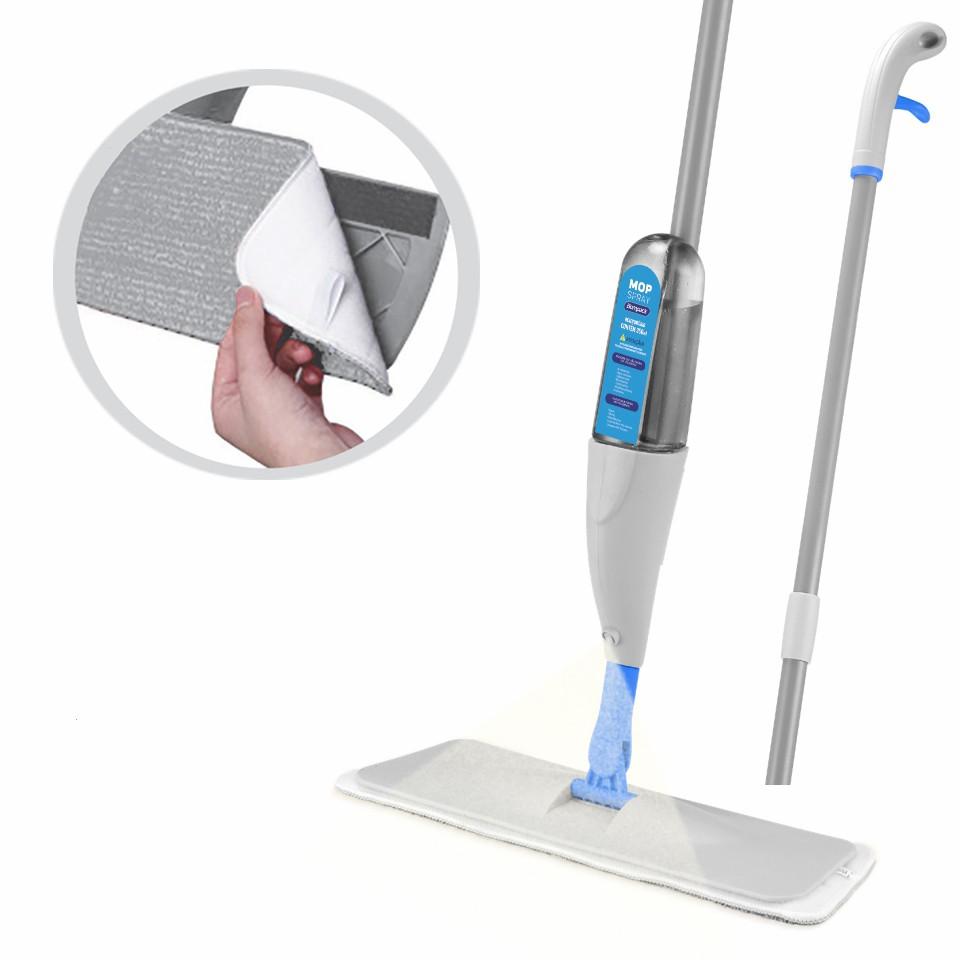 Mop Spray Vassoura C/ Reservátorio e Refil Extra Bompack