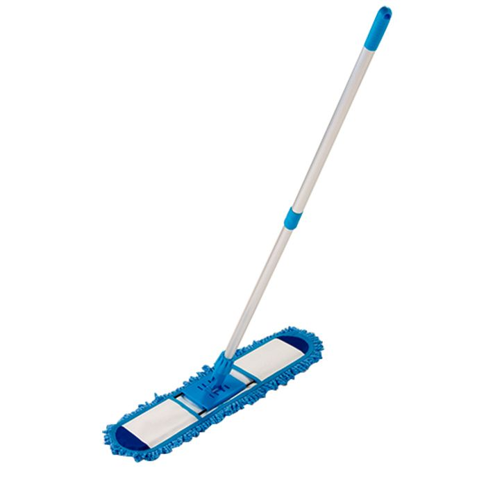 Mop  Tira Pó  Microfibra Flexível 60 Cm  Vassoura Limpeza a Seco