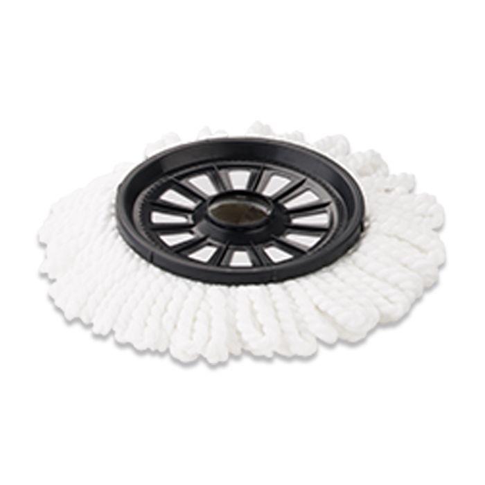 Mop Twister Noviça 2 refil microfibra 1 tira pó e 1 escovão