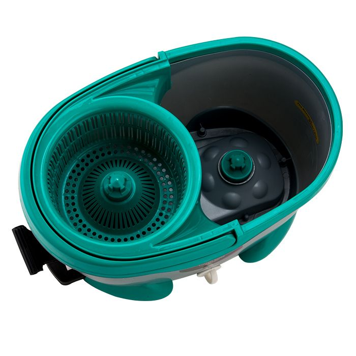 Mop Twister Turbo c/ 2 refil microfibra 1 tira pó 1 escovão
