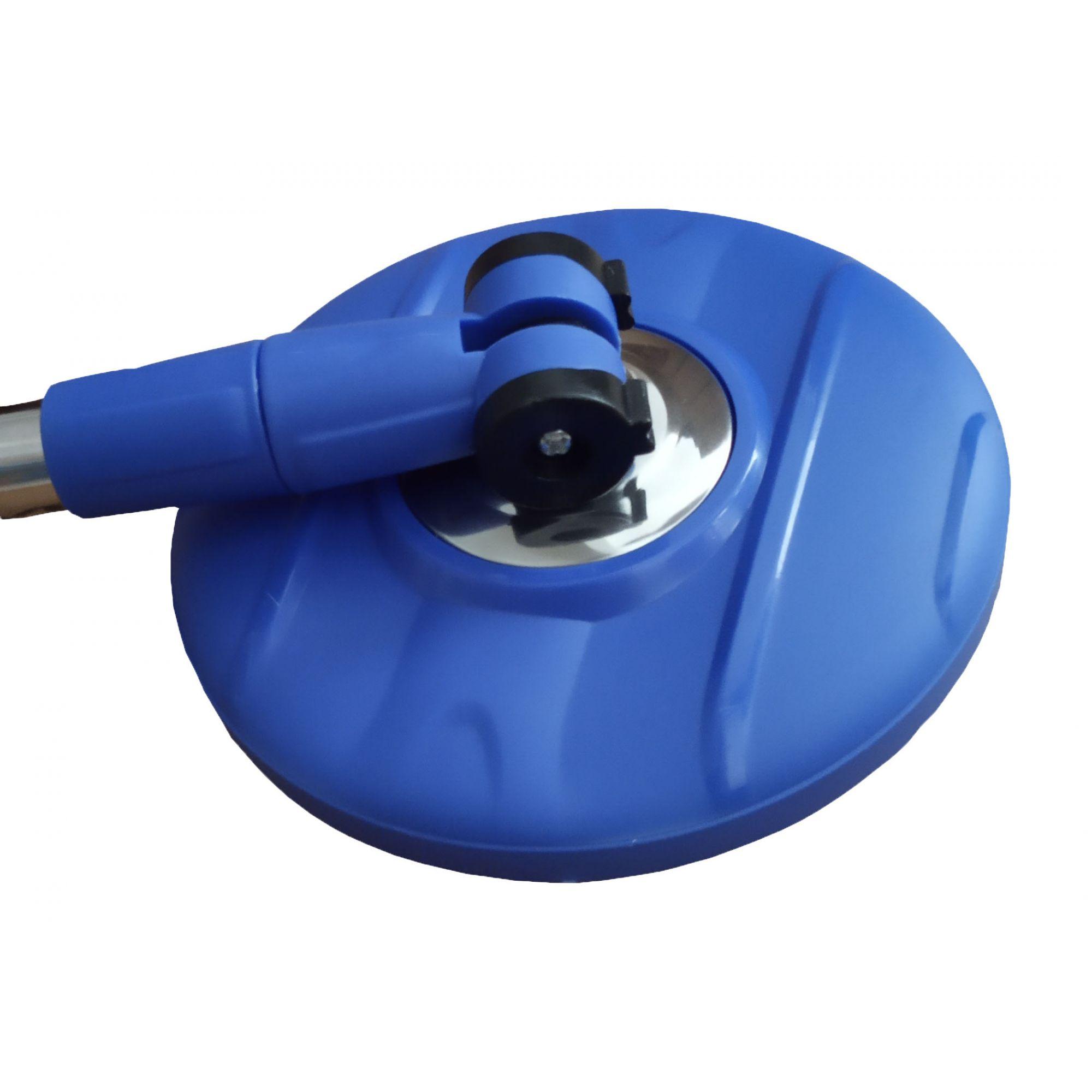 Perfect Mop 360 Cesto Inox Com 3 Refil Cabo 1,60 Mts e Limpador Magnético
