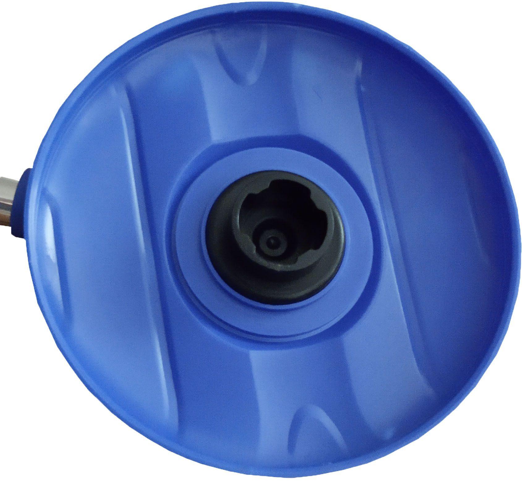 Perfect Mop 360 Cesto Inox  Com 4 Refis Microfibra e Cabo 1,60 Metros