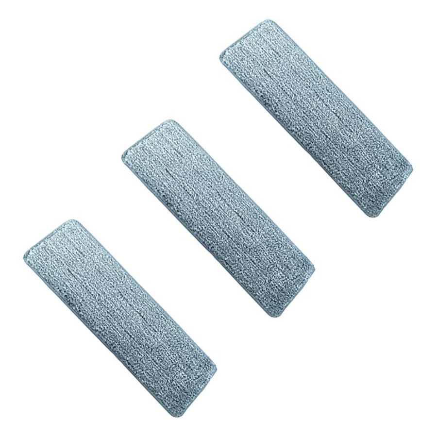 Refil para Wap Mop Duplo Lava e Seca Kit 3 Unid