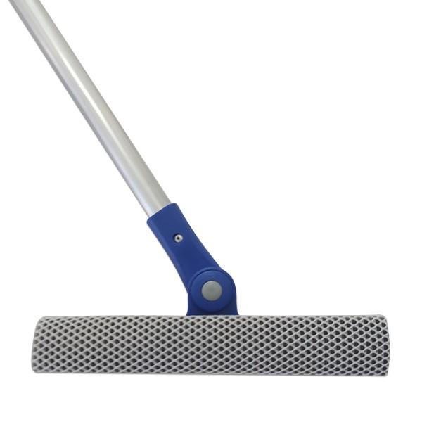 Rodo Limpa Vidros 80 Cm Dupla Face Limpa e Seca Multiuso