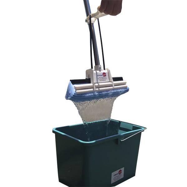 Rodo Mágico 27 Cm com Balde 1 Refil Extra Absorve Limpa Seca