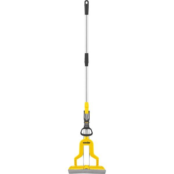Rodo Mágico Dobrável Mop Limpador de Piso Vonder Com 5 Refil