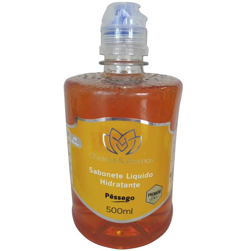 Sabonete Líquido Hidratante Pêssego Lírio do Campo 500ml