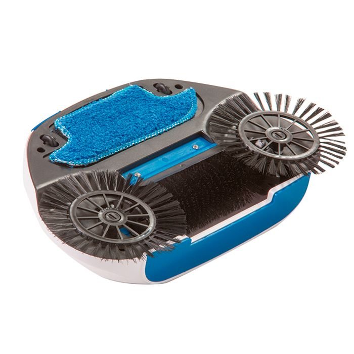 Vassoura Mágica, Spin Mop Cesto Inox Com 2 Refis