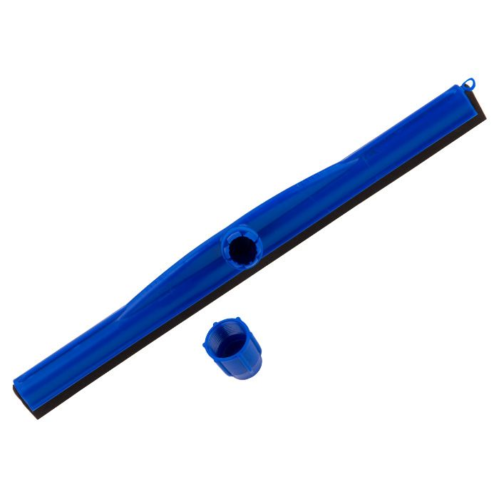 Vassoura Mop Tira Pó,Toalha Microfibra, Rodo Borracha Dupla 45 cm