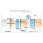 Dispositivo de Aspiração ABS/Inox Pratic 1 50mm Sodramar