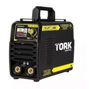 Inversor de Solda Digital TIG+MMA - ARC - Force 80v 200A Tork ITE-10200-BV