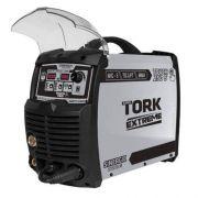 Inversora Solda Supertork Touch 250 Imets 12250 220v 3x1 (mig - Tig Lift - Mma)