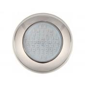 Refletor LED Inox Azul 70 Lâmpadas Brustec