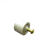 Rolete plástico aspirador 3 rodas Sodramar