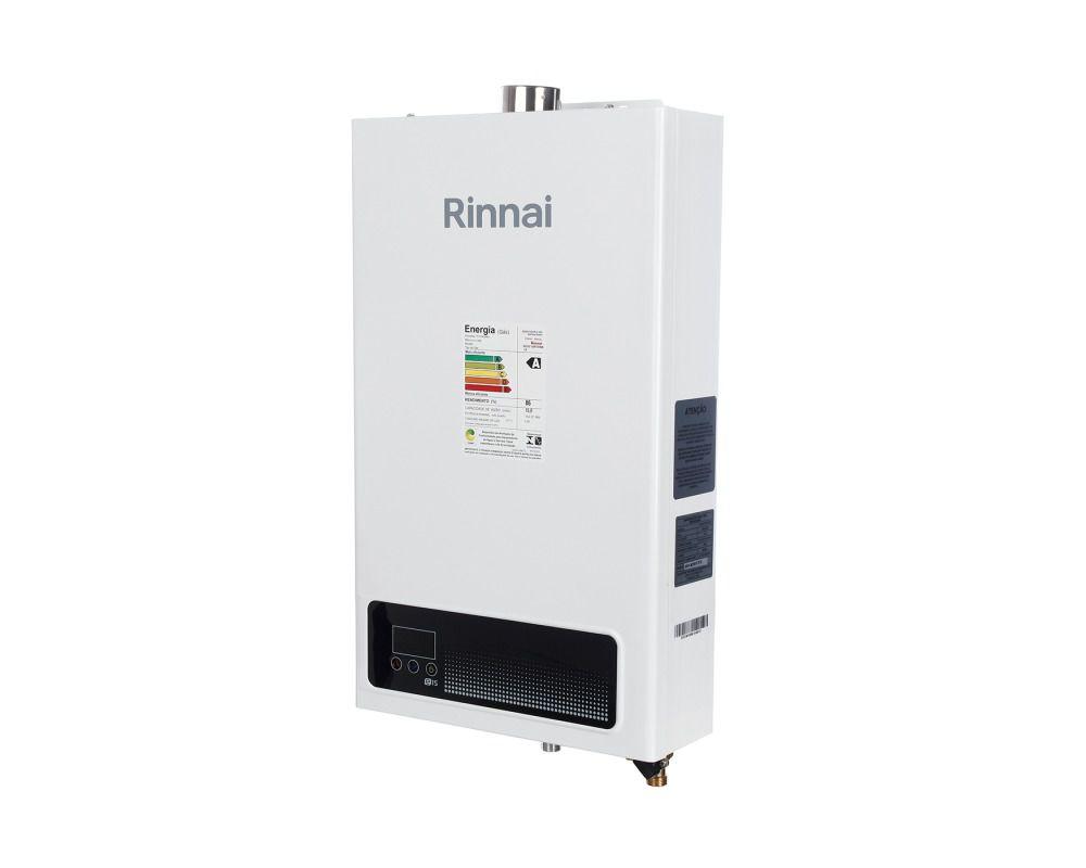 Aquecedor a Gás REU-E150 FEH BL8 Rinnai