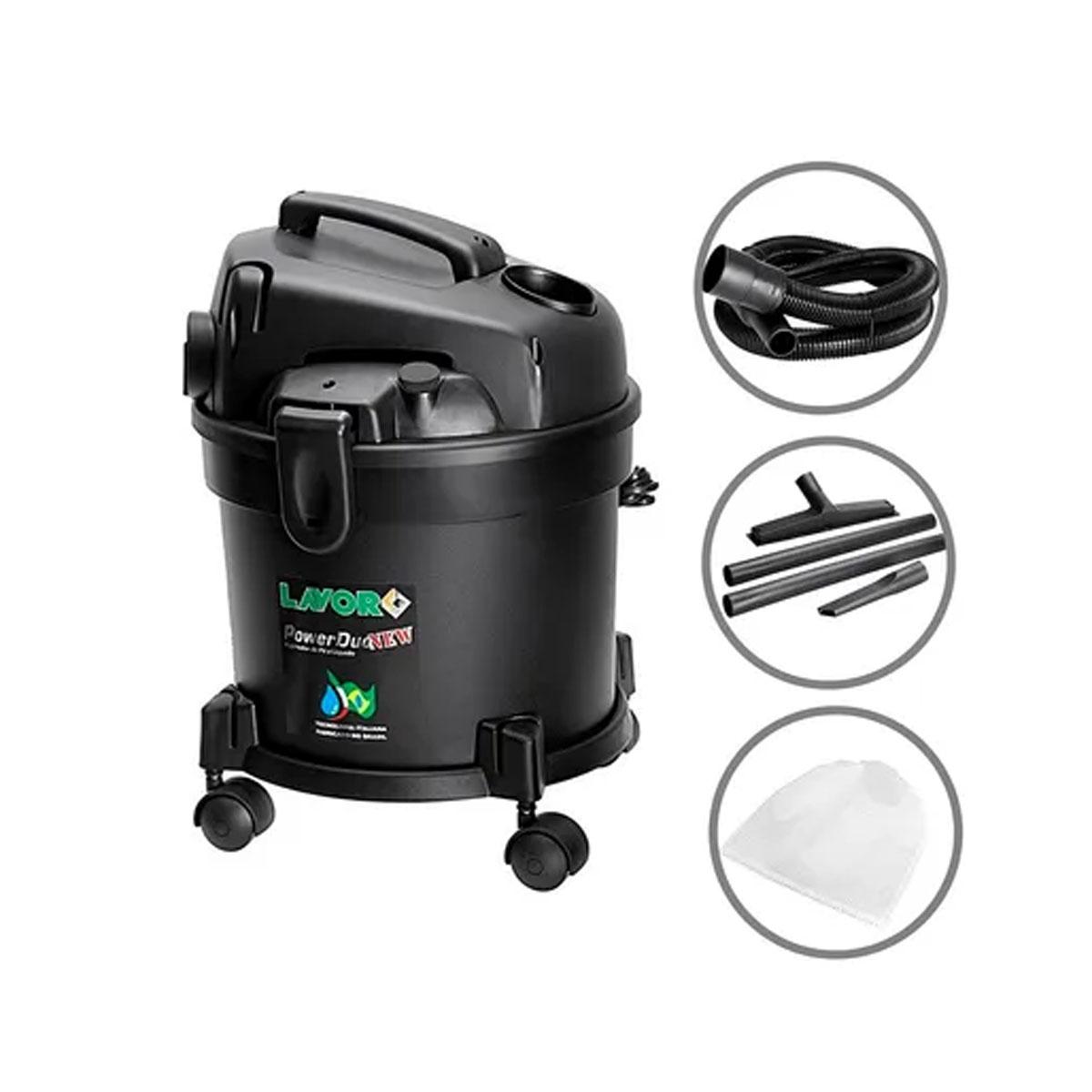 Aspirador de Pó e Liquido Power Duo New 110v Lavor