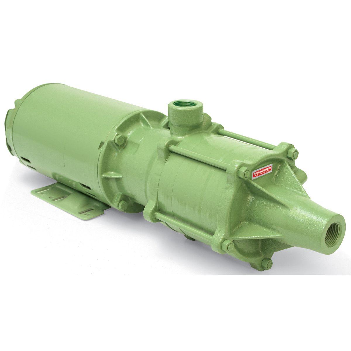Bomba Multiestágio Schneider ME-AL 1315 1,5 CV Trifásica 220V/380V
