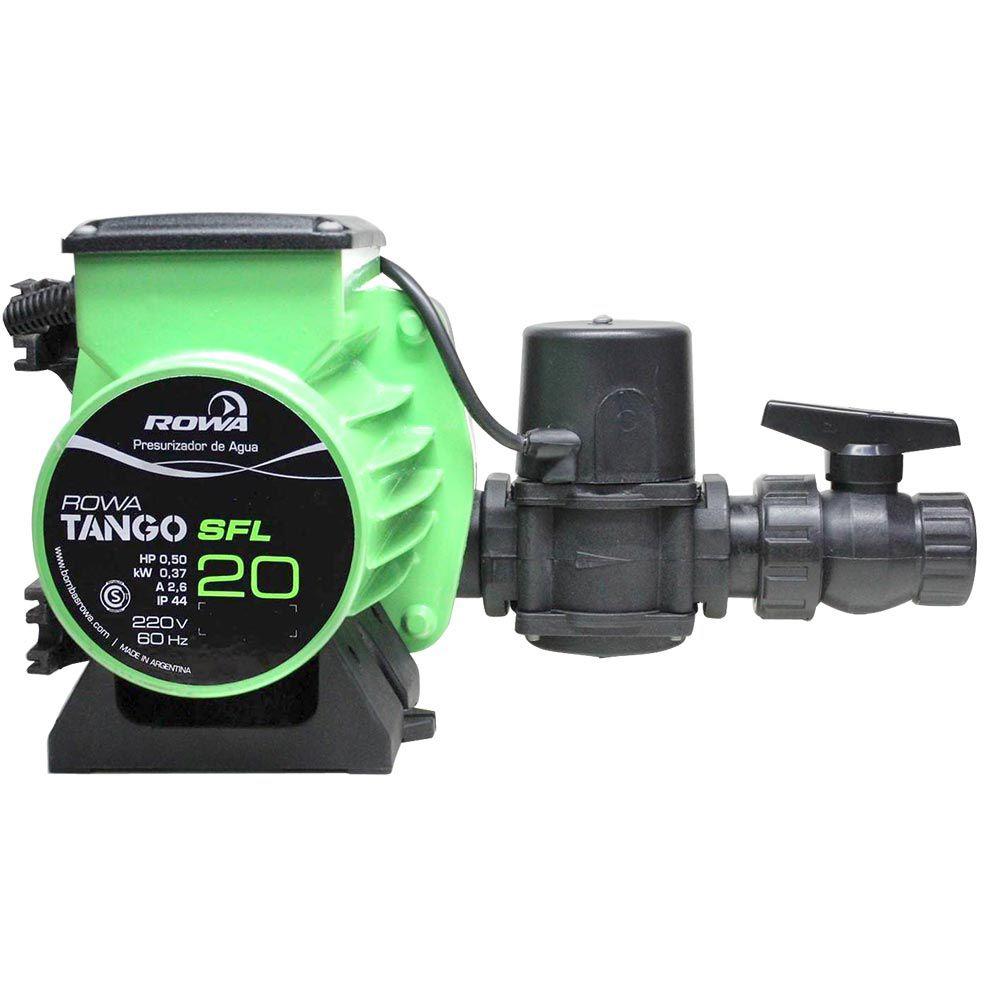 Bomba Pressurizadora Rowa Tango SFL 20 Monofásico