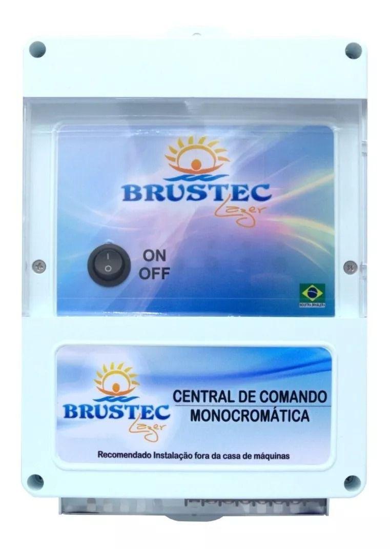 Caixa Monocromática 10A 12V Brustec