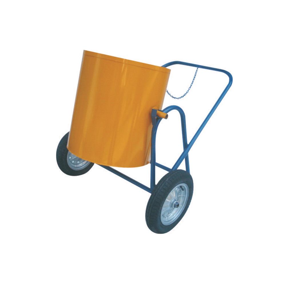 Carrinho Coletor de Lixo 80 litros c/ roda pneumática 325x8 PCT
