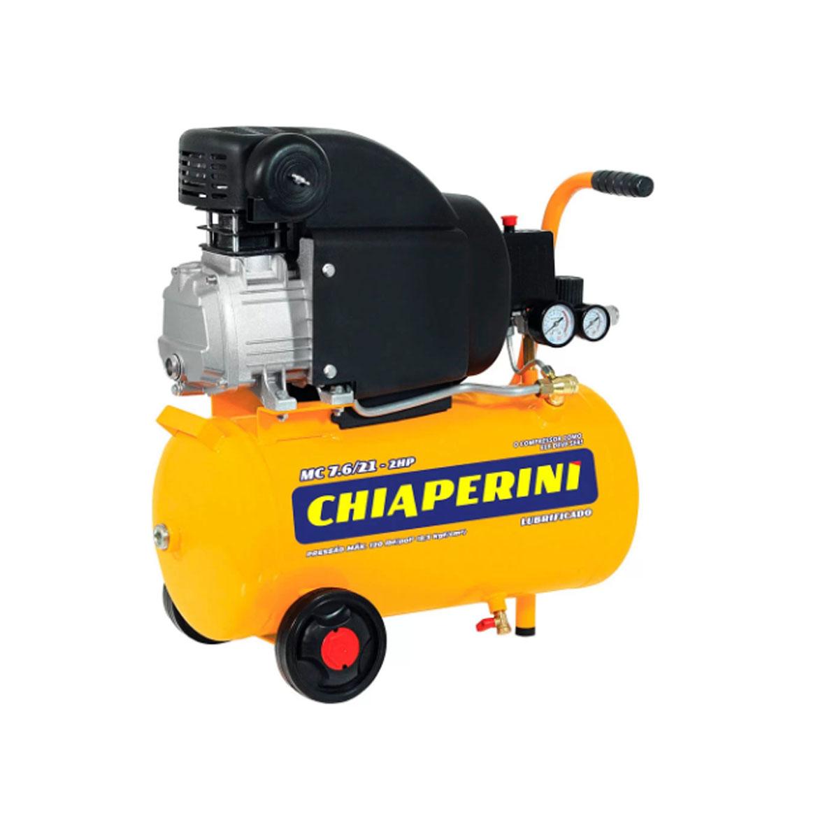 Motocomp. 7.6/21L 2HP-220V Sem Kit Chiaperini