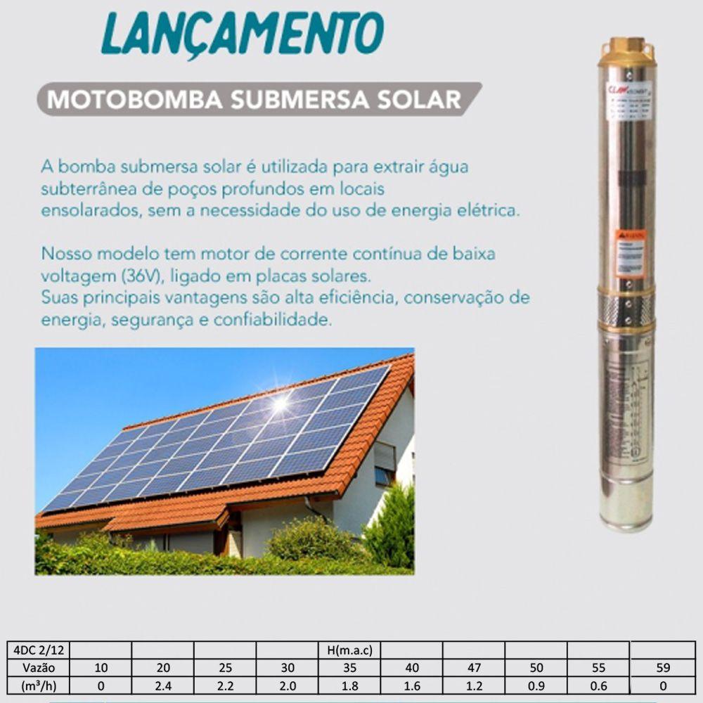 Motobomba Solar Ultra Pumps + 4 placas solares de 250W