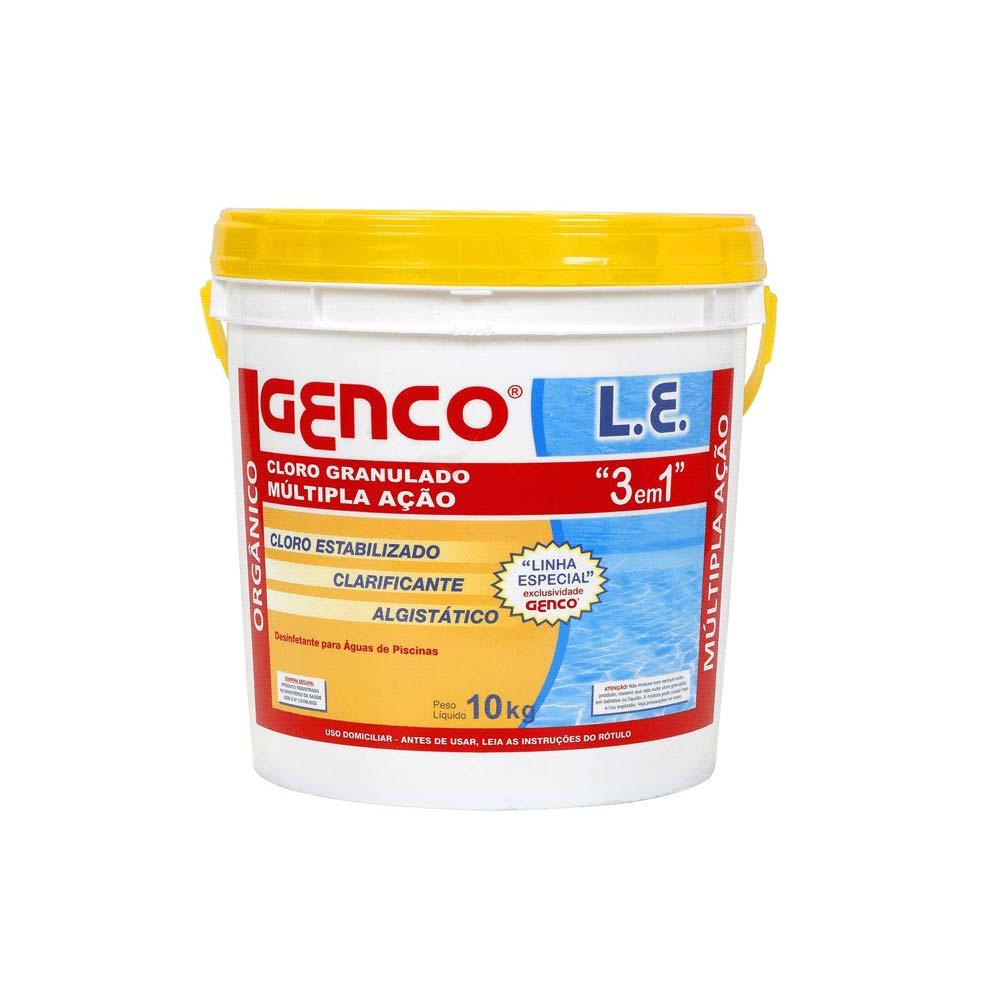 Cloro Genco 3 em 1 10 KG