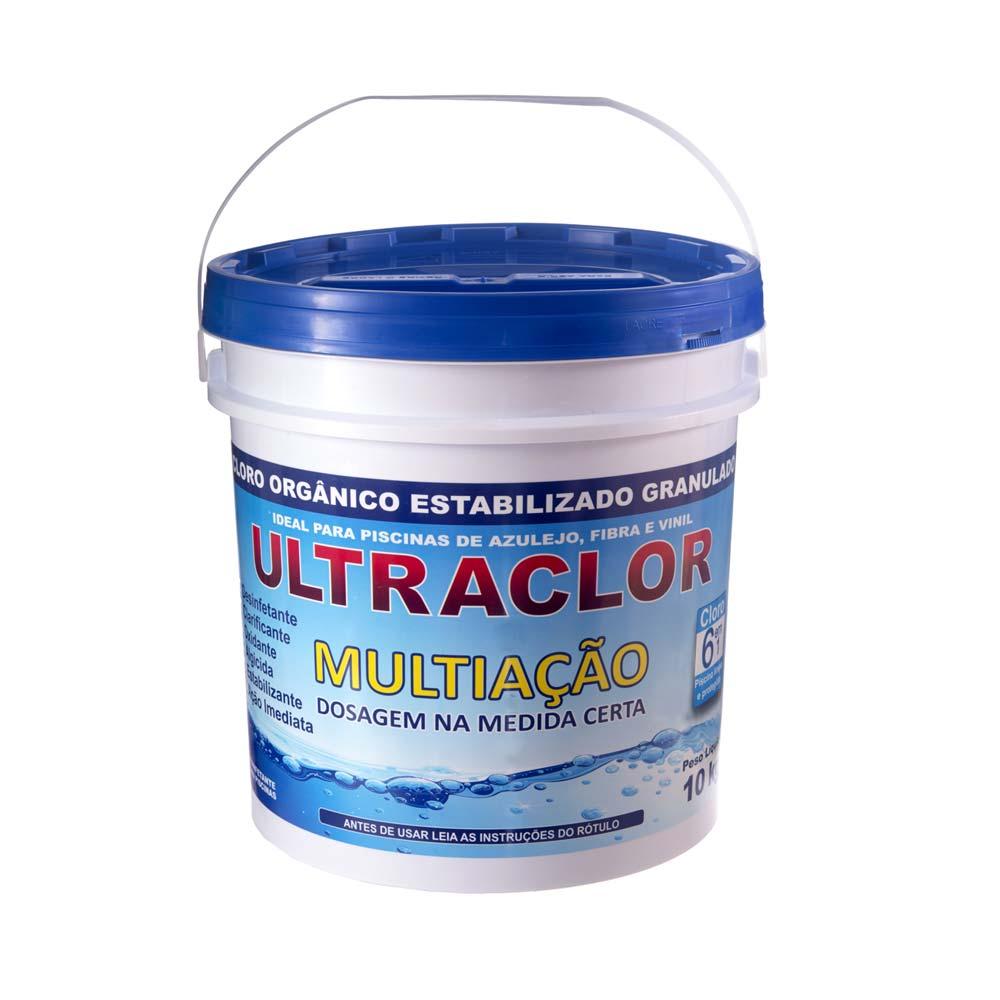 Cloro ULTRACLOR Multiação 6 em 1 10 KG