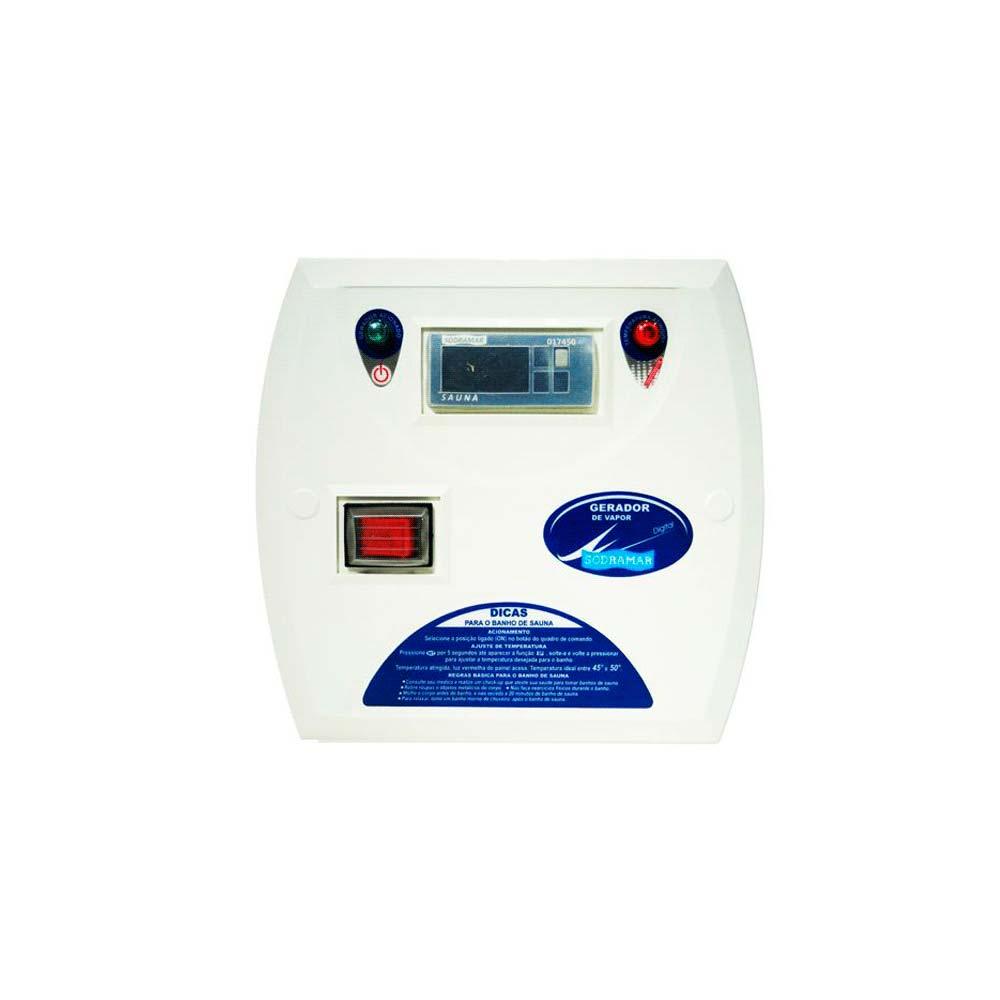 Comando Digital para Sauna a vapor Compact line Inox