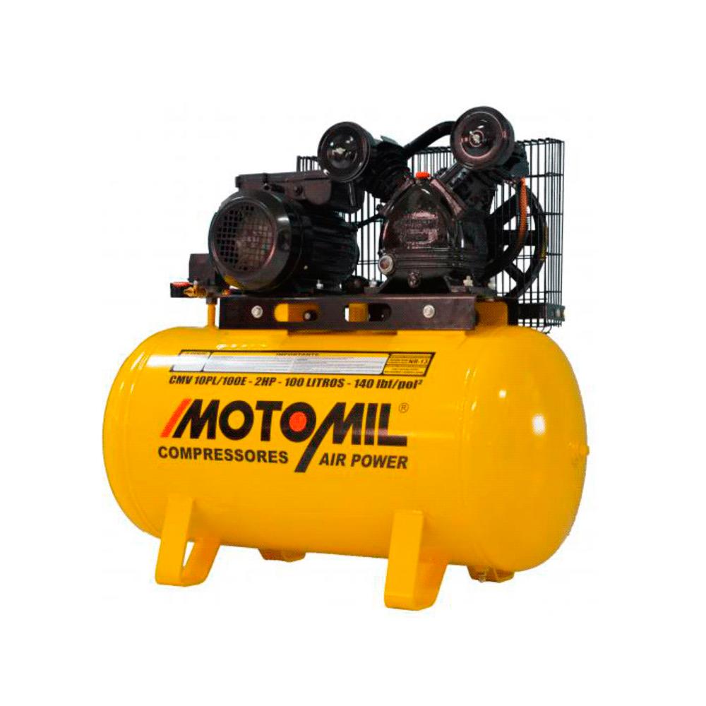 Compressor Motomil CMV 10PL/100 Litros