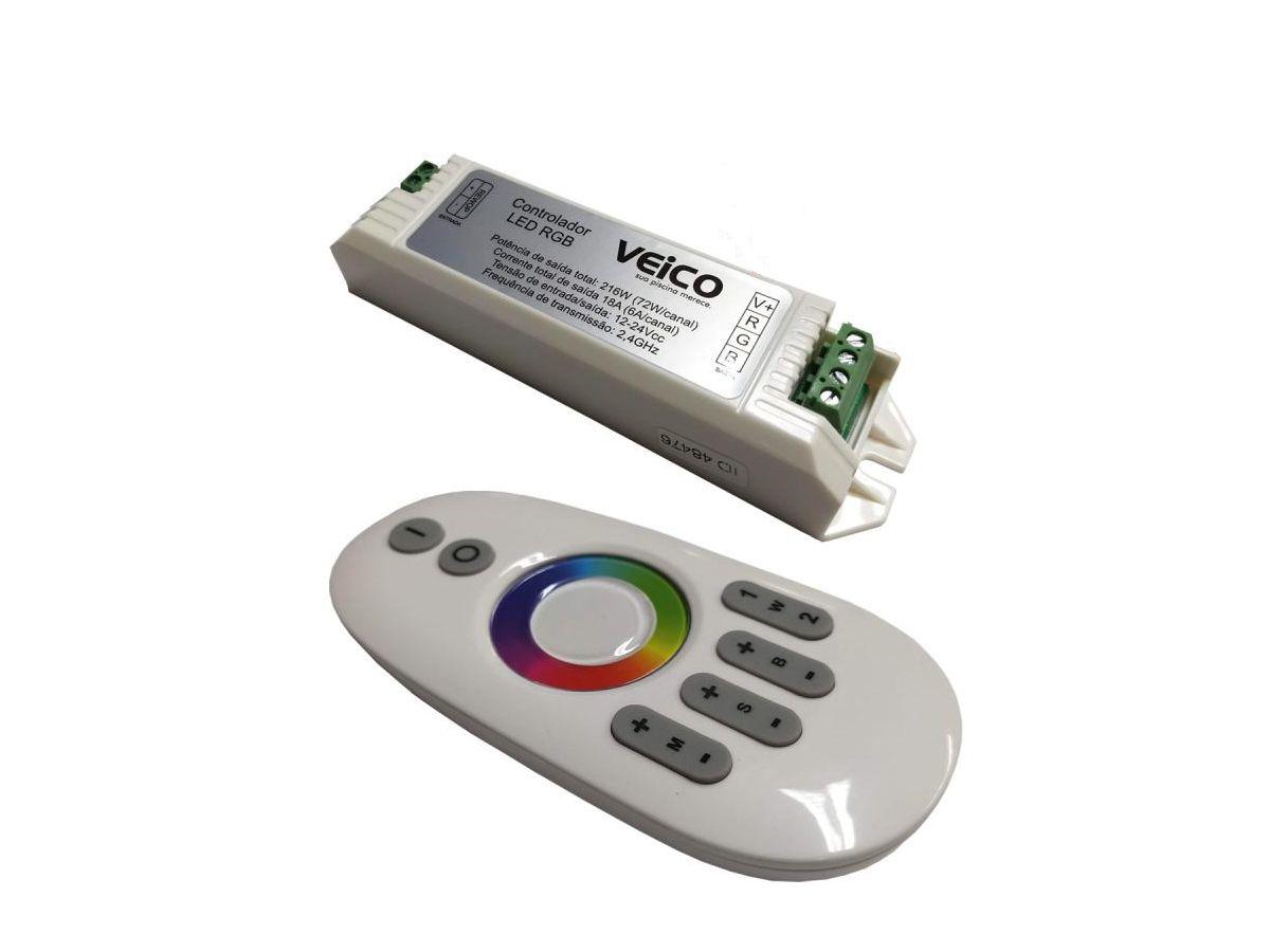 Controlador de Led RGB Veico