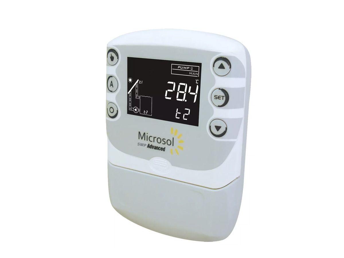 Controlador de temperatura SWP Advanced 02 220V Ultraclor Microsol