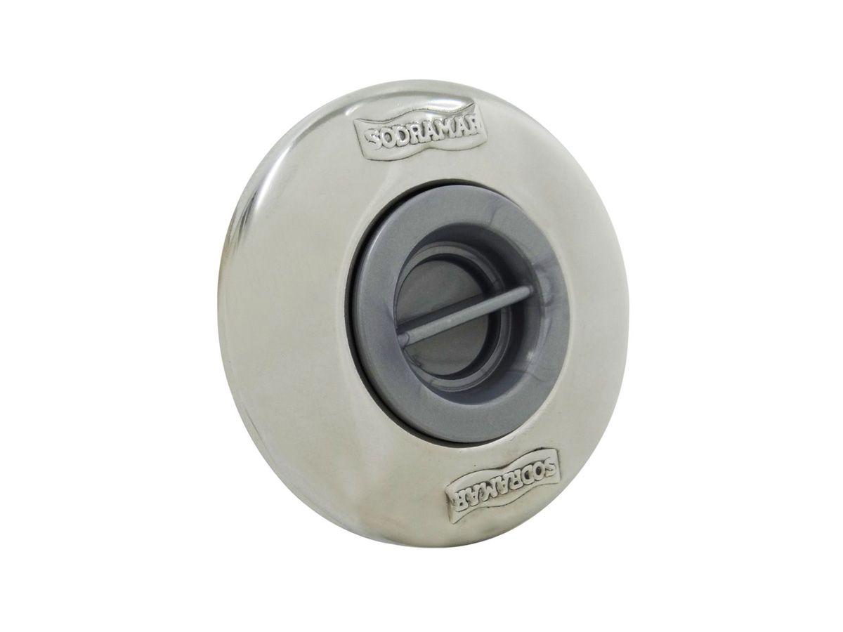 Dispositivo de Aspiração ABS/Inox Pratic 50mm Sodramar