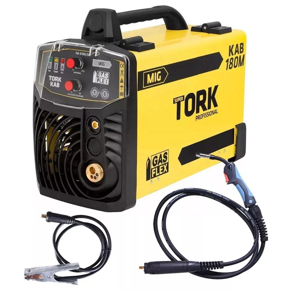Inversor De Solda Mig 180a Com Ou Sem Gás Tork Im-8180/5k