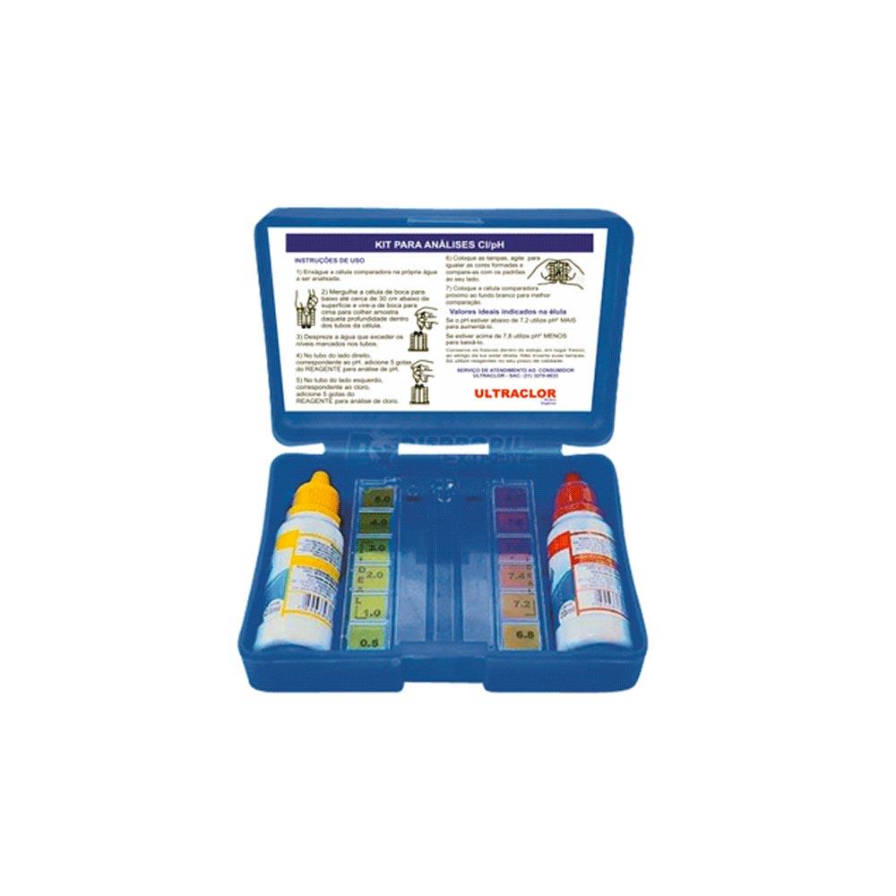 Kit ULTRACLOR Cloro – PH sem Reagente