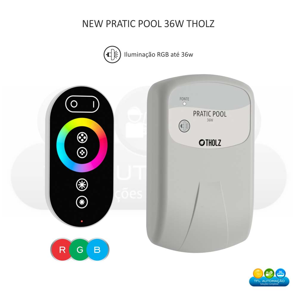 Módulo RGB 36W - New Pratic Pool MCX1207N-90 240VCA
