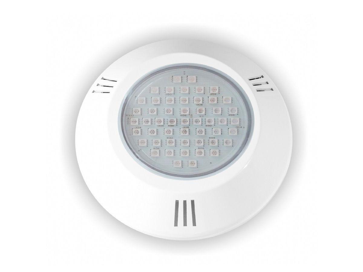 Power LED 9W ABS RGB Rosca Brustec