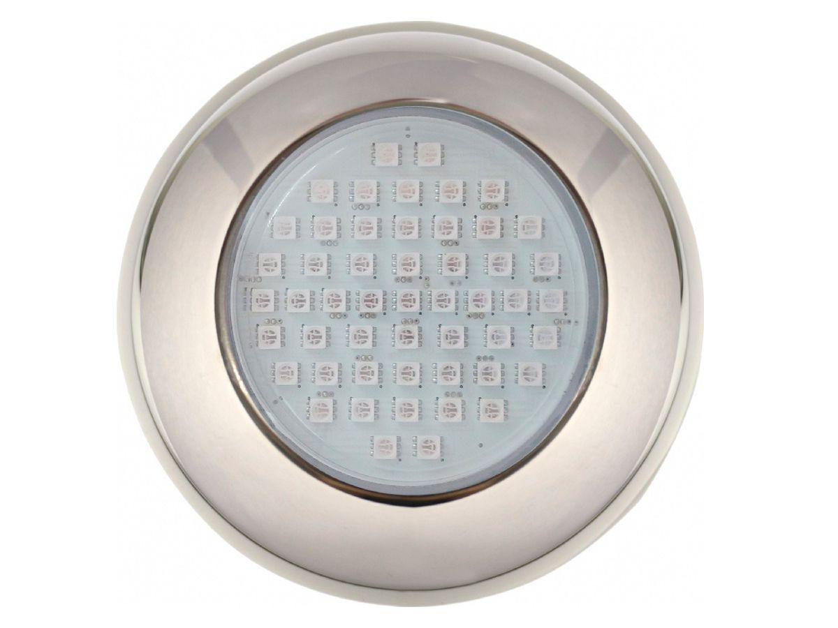 Power LED 9W INOX Brustec